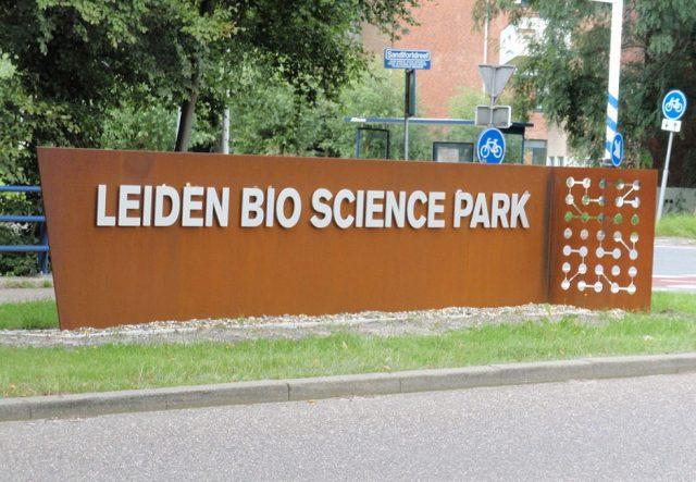 leiden bio science park bord